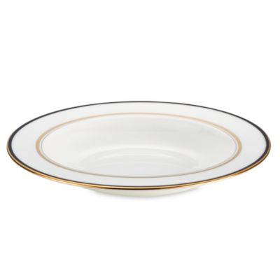 Library Lane Navy™ 9-Inch Pasta/Rim Soup Bowl
