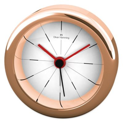 Desire Alarm Clock in Rose Gold