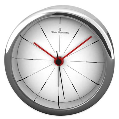 Desire Extreme Minimalist Alarm Clock in Chrome