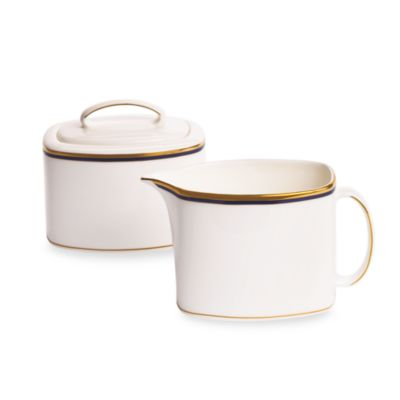 Library Lane Navy™ Covered Sugar Bowl