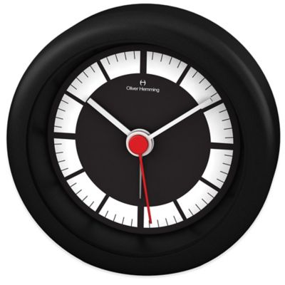 Oliver Hemming Desire Alarm Clock in Black Matte