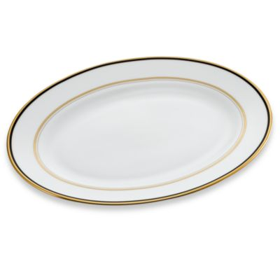 kate spade new york Library Lane Navy™ 13-Inch Oval Platter