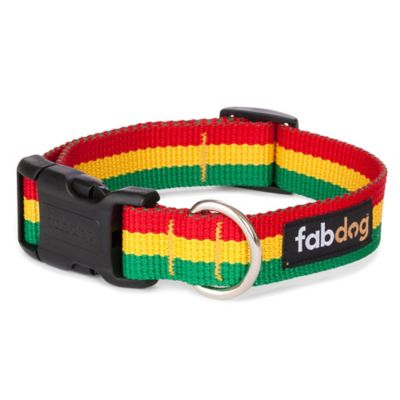 Fab Dog™ Medium Rasta Collar