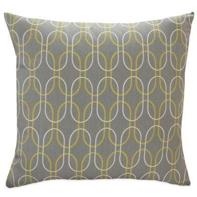 Helix Square Throw Pillow (Set of 2)
