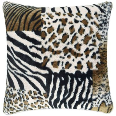 Vue™ Safari Patchwork Square Throw Pillow