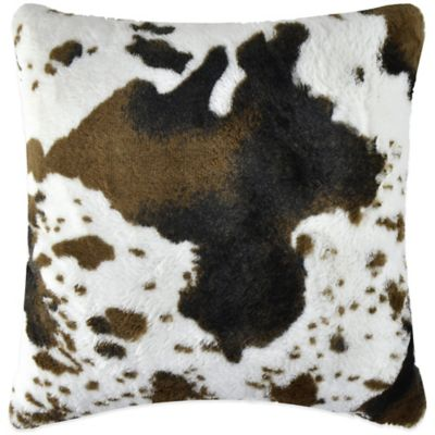 Vue™ Horse Faux-Fur Square Throw Pillow