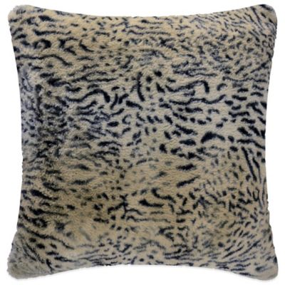 Vue™ Lynx Faux-Fur Square Throw Pillow