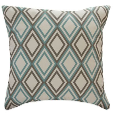 Blue Grey Pillow Cover