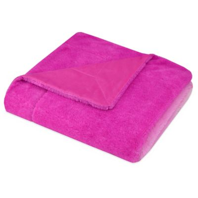 Pink Bedding Throws
