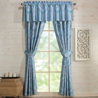 Under the Canopy® Lightworker Organic Cotton 84-Inch Window Panel Pair in Blue