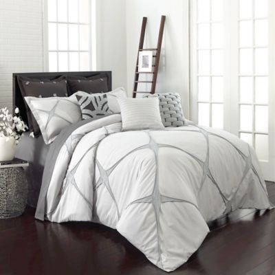 Vue® Cersei Twin Comforter Set in Cream
