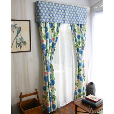 Amy Butler by Welspun Kyoto Window Valance in Blue