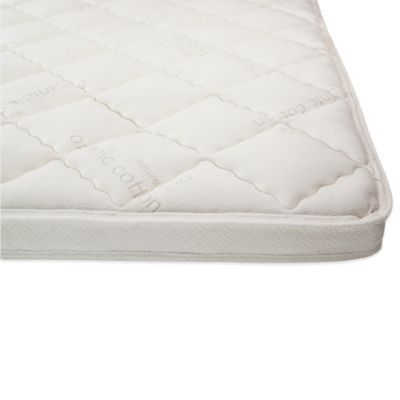 Naturepedic® Essentials 3-Inch Twin Pillowtop