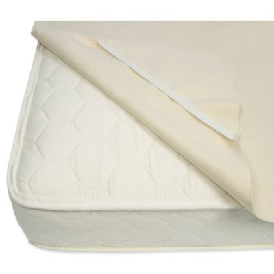 Naturepedic® Organic Cotton Waterproof Twin Protector Pad with Straps