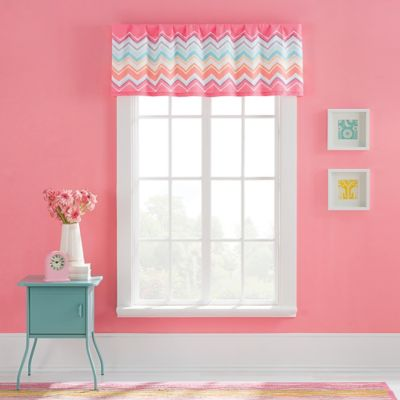 Marrielle 60-Inch Chevron Valance