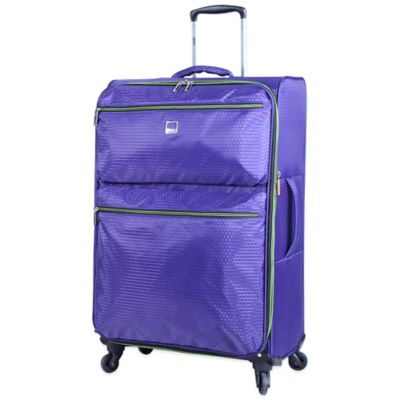 Lucas® Vortex 28-Inch Expandable Upright Spinner in Purple