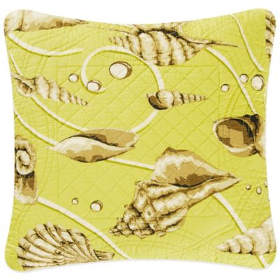 Calypso Shells Square Throw Pillow