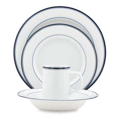 Dansk® Concerto Blue 4-Piece Place Setting