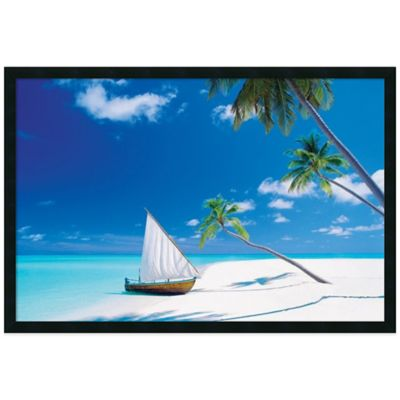 Paradise Found Framed Print Wall Art