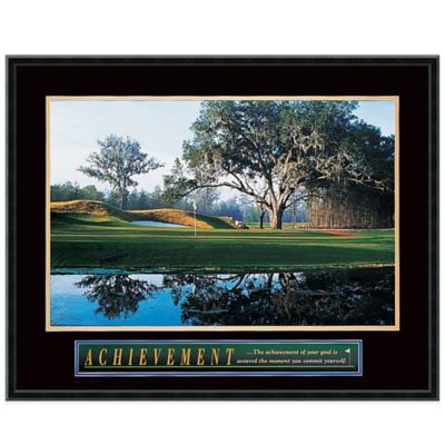 Achievement: Golf Framed Print Wall Art
