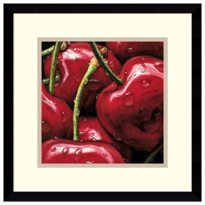 Alma'Ch Cherries Framed Art Print