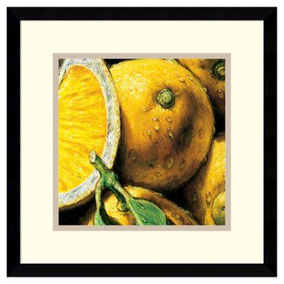 Alma'Ch Lemon Framed Art Print
