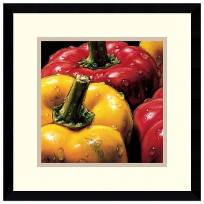 Alma'Ch Peppers Framed Art Print