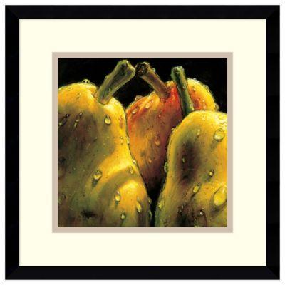 Alma'Ch Pears Framed Art Print