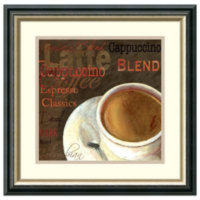 Aimee Wilson Cappuccino Framed Art Print