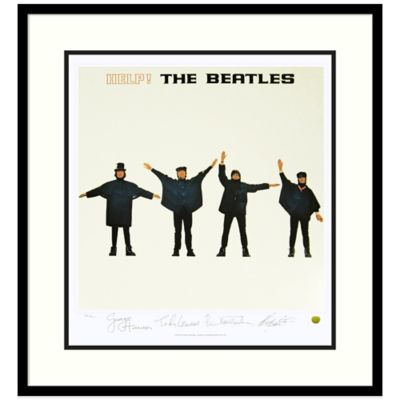 The Beatles Help! Framed Album Cover Wall Art
