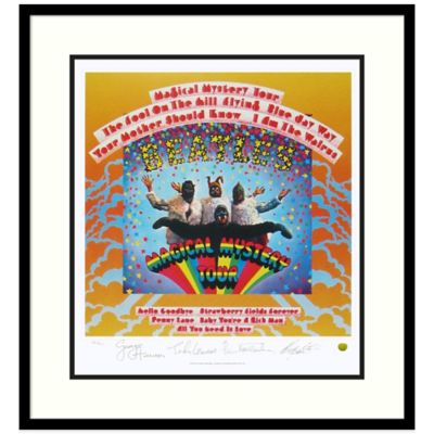 The Beatles Magical Mystery Tour Framed Album Cover Wall Art