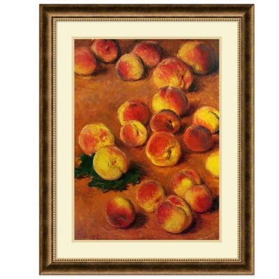 Claude Monet Peaches Wall Art