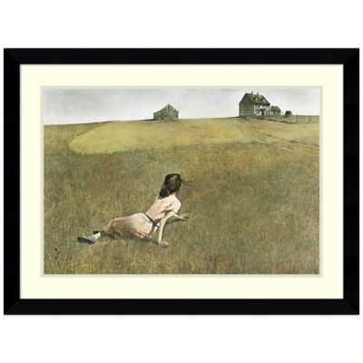 Andrew Wyeth Christina's World Framed Print Wall Art