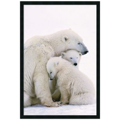 Polar Bear Family Wall Art
