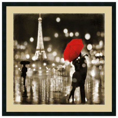 Kate Carrigan A Paris Kiss Wall Art