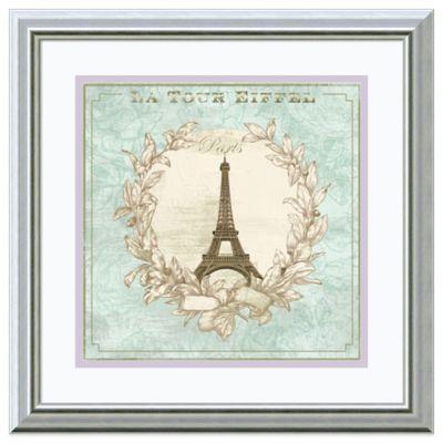 David Fischer Tour de Eiffel Framed Print Wall Art