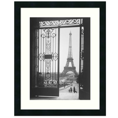 Gall The Eiffel Tower From The Trocadero Wall Art