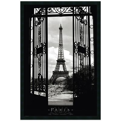 Eiffel Tower 1909 Wall Art