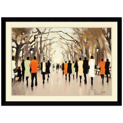 Lorraine Christie Poet's Walk Framed Print Wall Art