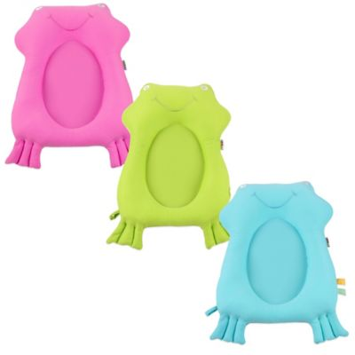 Minene Frog Bath Buddy in Blue