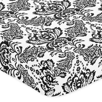 Sweet Jojo Designs Sophia Crib Sheet in Floral