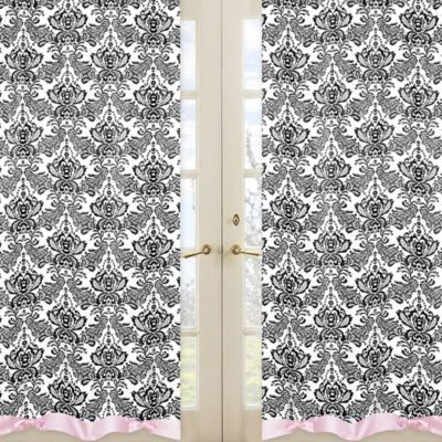 Sweet Jojo Designs Sophia Window Panel Pair