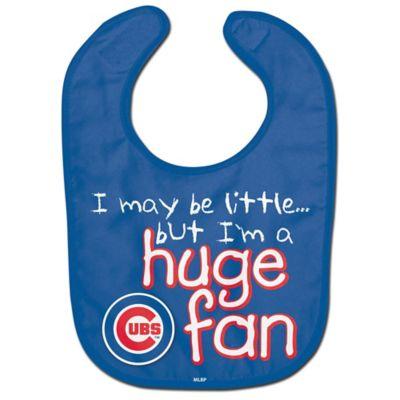 """MLB Chicago Cubs """"Huge Fan"""" Bib"""