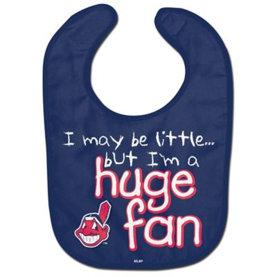"MLB Cleveland Indians ""Huge Fan"" Bib"