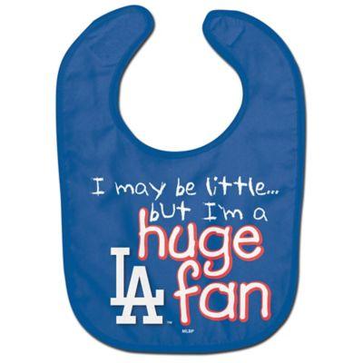 "MLB Los Angeles Dodgers ""Huge Fan"" Bib"