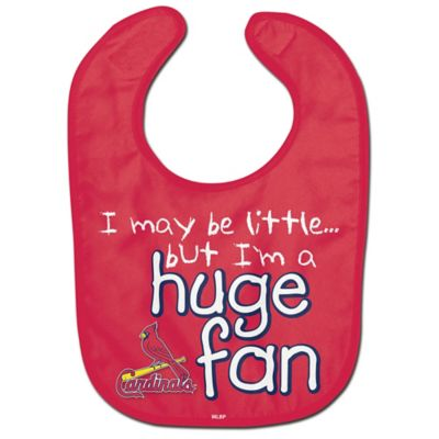 "MLB St. Louis Cardinals ""Huge Fan"" Bib"
