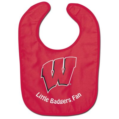 "University of Wisconsin ""Little Badgers Fan"" Bib"