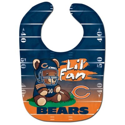 "NFL Chicago Bears ""Lil' Fan"" Teddy Bear Bib"