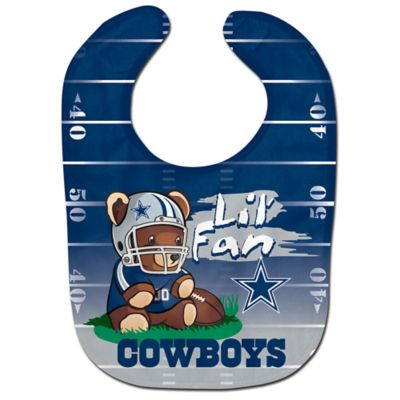 "NFL Dallas Cowboys ""Lil' Fan"" Teddy Bear Bib"