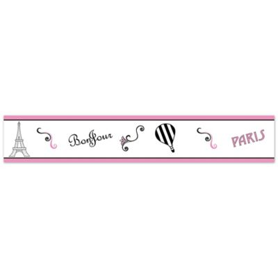Sweet Jojo Designs Paris Wallpaper Border